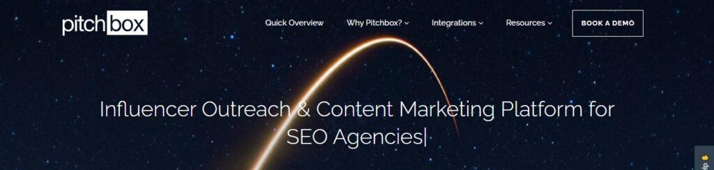 pitchbox -Influencer Outreach